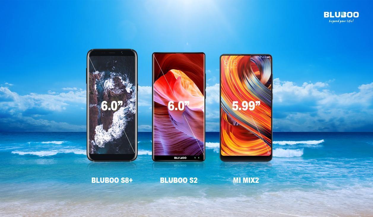 Bluboo S2 & Bluboo S8+