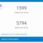 Geekbench Xiaomi Mi Note 3