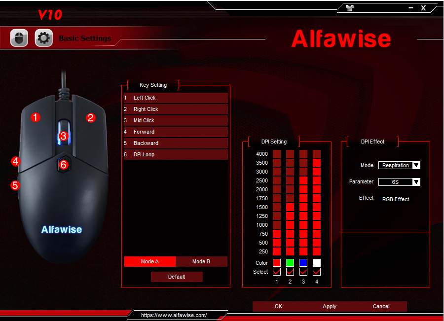 Alfawise V10 Software 001