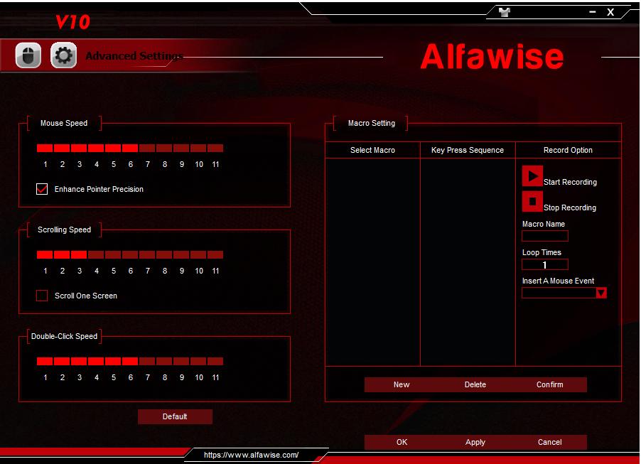 Alfawise V10 Software 003