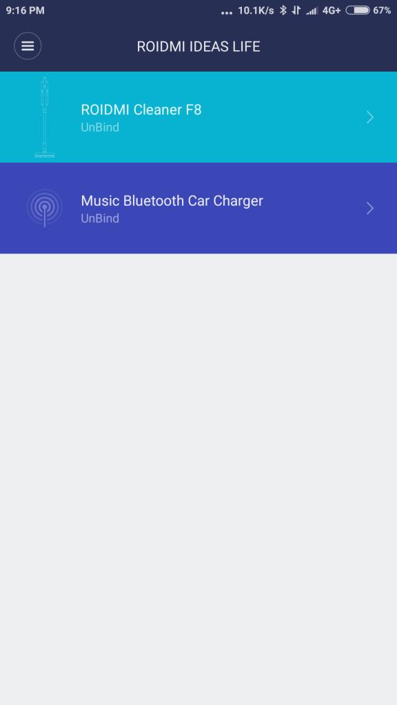 Xiaomi Roidmi App